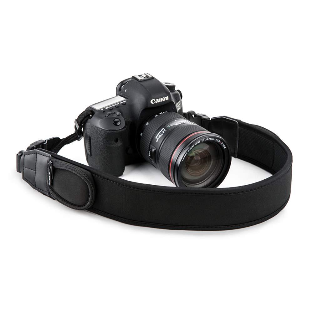 Camera Neck Strap JJC DSLR Neck Shoulder Belt Strap for Canon T7 T6 T5 7D 6D 5D T7i T6s T6i T5i SL2 SL1 80D 77D Nikon D3400 D3300 D3200 D5600 D5500 D7500 D7200 D850 D810 D500 D5 D4s Sony A99 A900, etc NS-Q1