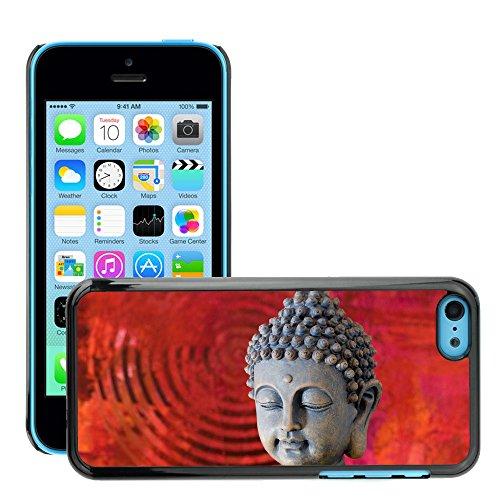 Premio Sottile Slim Cassa Custodia Case Cover Shell // V00001642 Bouddha // Apple iPhone 5C