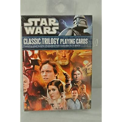 Star Wars Classic Trilogy Playing Cards: Toys & Games