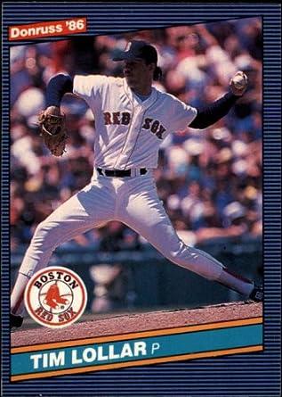 Amazoncom 1986 Donruss Baseball Card 620 Tim Lollar Mint
