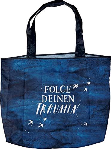 50x35x12cm Shopper Bolso de en Träumen Azul la Compra Deinen Folge Bolsa BücherLiebe 6Tqxw5PT