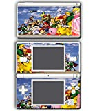 Super Smash Bros Melee Brawl Link Zelda Peach Dr Mario Mewtwo Bowser Luigi Samus Video Game Vinyl Decal Skin Sticker Cover for Nintendo DS Lite System