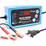 Katbo 6 Amp UltraSafe Smart Battery Charger 6V 12V Automatic and Manual