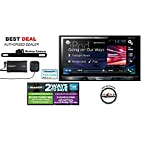 Pioneer AVH-X5800BHS Multimedia DVD Receiver with 6.95 WVGA Display with SXV300V1 SiriusXM Tuner, Antenna & TE-BPC Backup Camera and a FREE SOTS Air freshner!
