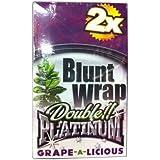 Blunt Wrap Double Platinum Grape-a-Licious 25 x 2 Wraps