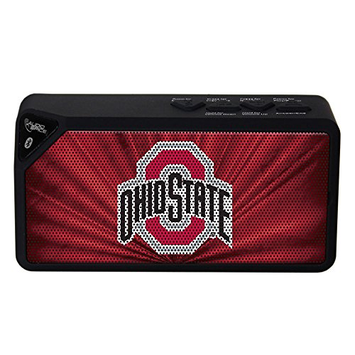 NCAA Ohio State Buckeyes BX-100 Bluetooth Speaker, Black