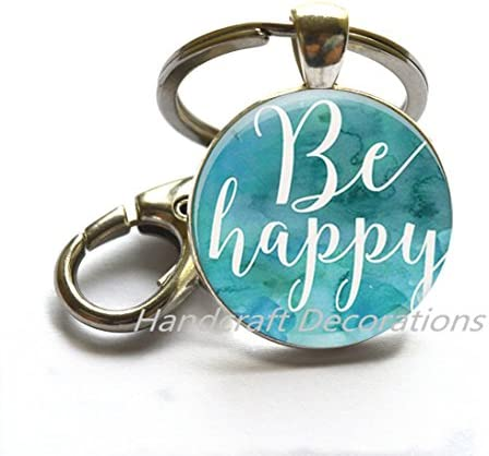 Hot Air Balloon Keyring Gift for Motivational Purse Charm Planner her him Dream Up Jewelry Balloon Key Chain Live Your Dream Keychain