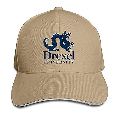 Logon 8 Drexel University Fashion Baseball Cap Natural One Size (Digimon Miniatures)