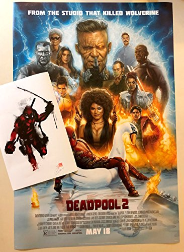 Movie Poster Deadpool 2 27x40 (with Deadpool 11x17 CC Promo Print included)