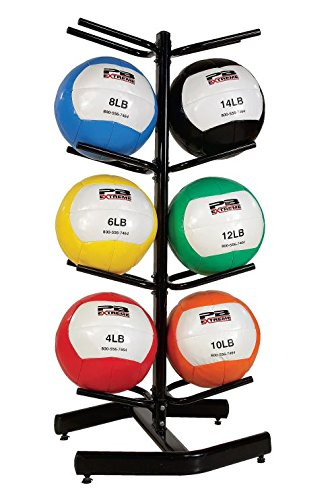 Dynamax/PB Extreme Soft Toss Medicine Ball Rack by Perform Better