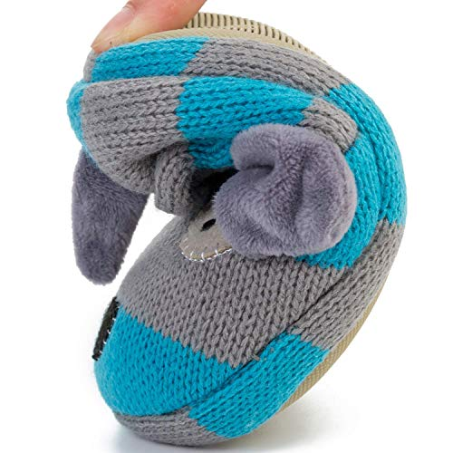 FEETCITY Toddler Boys' Doggy Slipper Cartoon Puppy Crochet Shoes Size 7.5-8 by FEETCITY (Image #4)