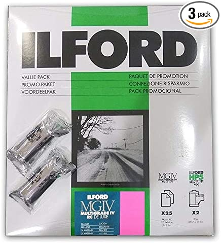 White Ilford 1178539/ 135//36 /Pack Multigrade IV RC Gloss with 2/HP5/