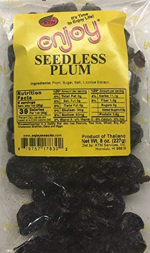 Enjoy Hawaii Seedless Plum 8 oz. bag