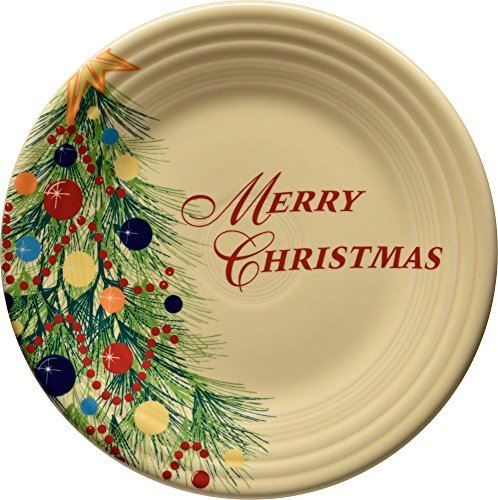 Merry Christmas Plate (Fiesta Dinnerware Christmas)