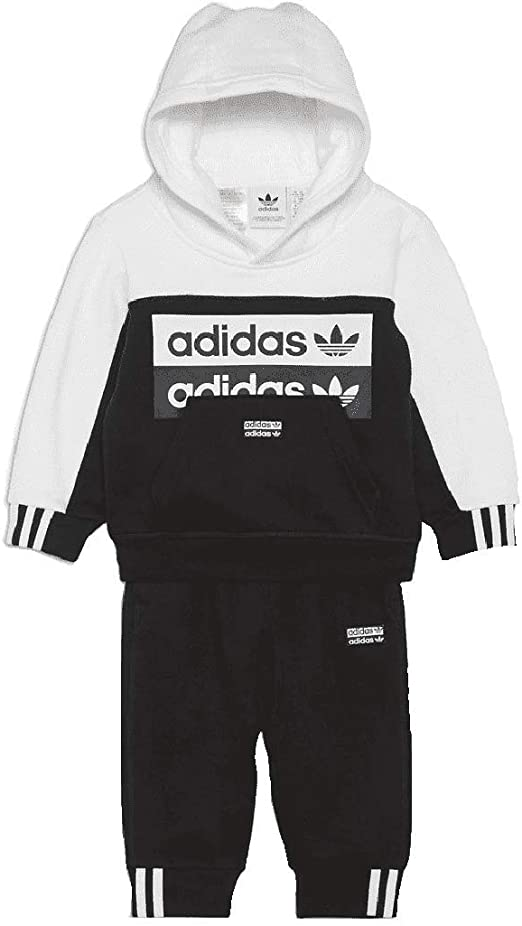 Adidas - Chándal infantil Black7white 4 años: Amazon.es: Ropa y ...