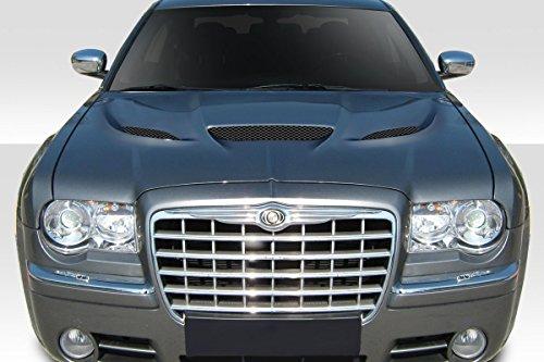 Duraflex Replacement for 2005-2010 Chrysler 300 300c Hellcat Look Hood - 1 Piece