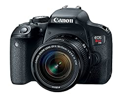 Image of the product Canon EOS Rebel T7i US that is listed on the catalogue brand of Canon. It is scored with a 4.5 over 5.