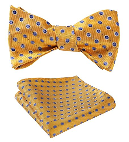 yellow bow ties - 7