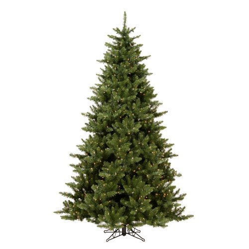 Fir Tree Christmas Camdon (Vickerman 7.5' Camdon Fir Artificial Christmas Tree with 800 Clear Lights)