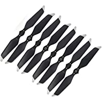 8pcs 8331F Quick-release Low-noise Propellers CW CCW for DJI Mavic Pro Platinum (Silver)