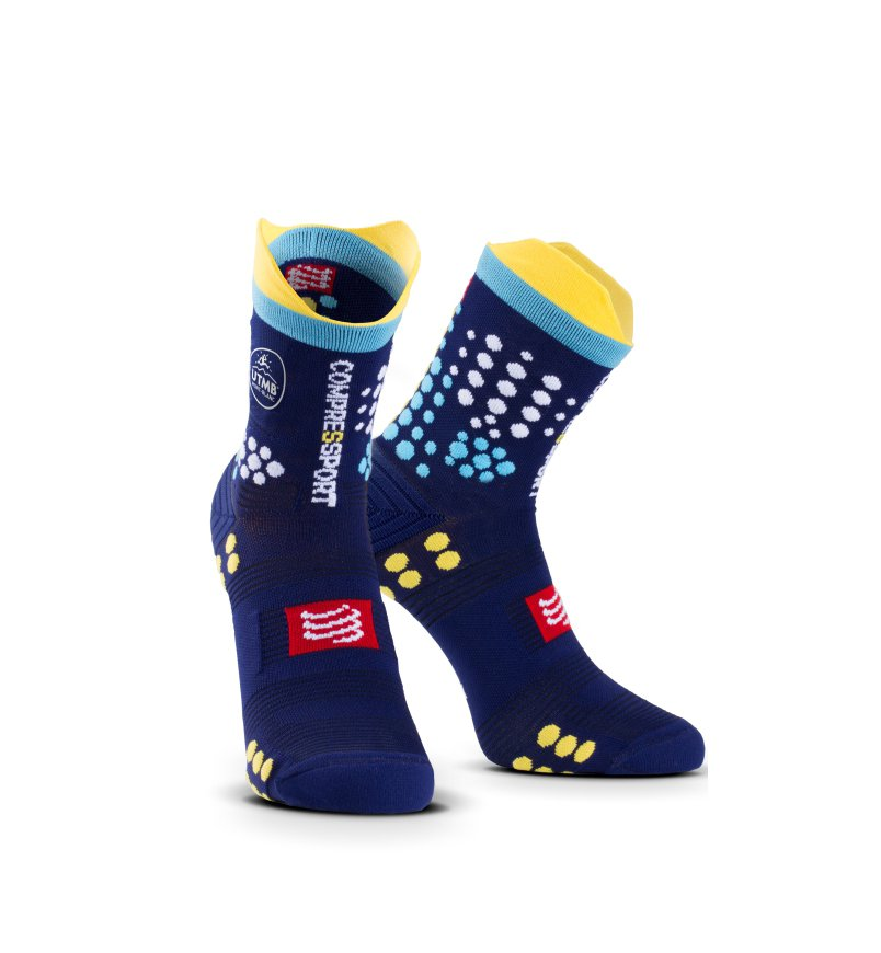 Compressport Calcetines proracing Socks Ultra-Trail - Utmb 2017: Amazon.es: Deportes y aire libre