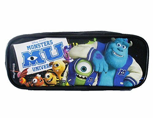 1 X Monsters University Pencil Case - BRAND NEW Black or Blue