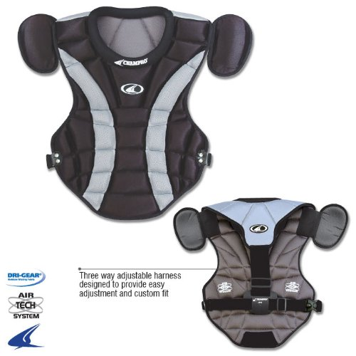 Champro Pro Plus Chest Protector (Black, - Black Pro Chest Protector Shopping Results