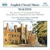 Walton - Sacred Choral Works
