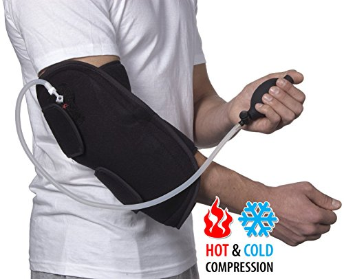 (Cold or Hot) & Air Compression Elbow Support - 6017 CAT