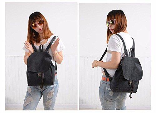 Shoulder Cute Mszyz Black Shoulders Backpacks Mini Bags Woman Fresh Bags Little Bags Cloth wZaqwfP8