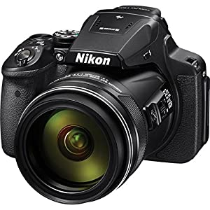 Nikon COOLPIX P900 Digital Camera with 83x Optical Zoom and Built-In Wi-Fi(Black) International Version (No warranty) from Nikon