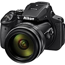 Nikon COOLPIX P900 Digital Camera with 83x Optical Zoom and Built-In Wi-Fi(Black) International Version (No warranty)