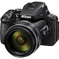 Nikon COOLPIX P900 16 MP Digital Camera with 83X Optical Zoom (Black)