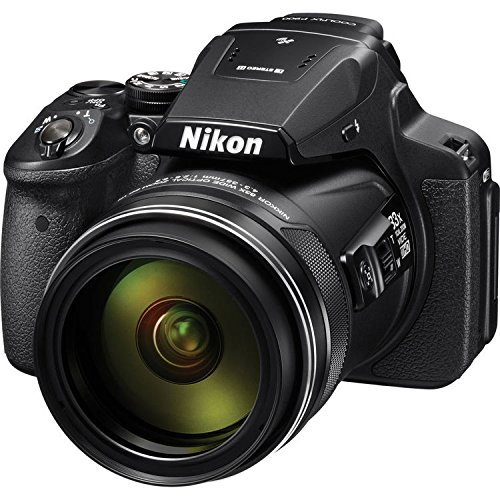 Nikon COOLPIX P900 Digital Camera with 83x Optical Zoom and Built-In Wi-Fi(Black) International Version (No warranty) by Nikon