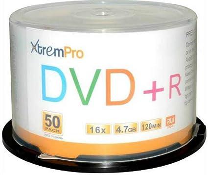 Amazon.com: XtremPro DVD+R 11026 - DVD grabable de 16 x 4,7 ...