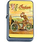 INDIAN MOTORCYCLE 1918 WORLD WAR I MILITARY Oil Lighter D-289