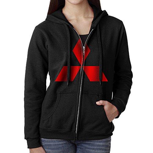 nuniuya-hoodie-sweatshirt-womens-mitsubishi-symbol-long-sleeve-zip-up-hooded-sweatshirt-jacket-black