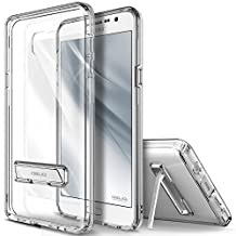 Galaxy Note 5 Case, OBLIQ [Naked Shield][Clear] - with Kickstand Thin Slim Fit TPU Bumper Hard Hybrid Shock Resist Protective Clear Case