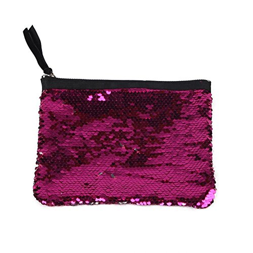 Bag Double Women Widewing Purse 2 Evening Side Storage Handbag Clutch Wallet Sequins Aqv4R1Wv
