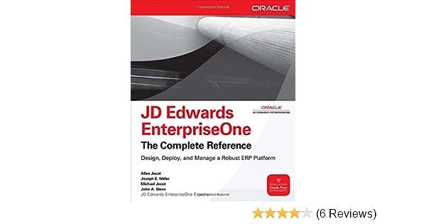 amazon com jd edwards enterpriseone the complete reference rh amazon com JD Edwards Logo JD Edwards E1