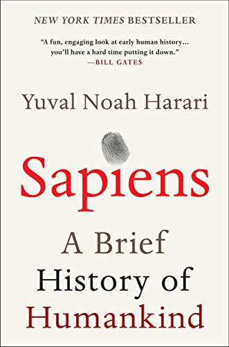 Sapiens by Yuval Noah Harari inspiring books to read