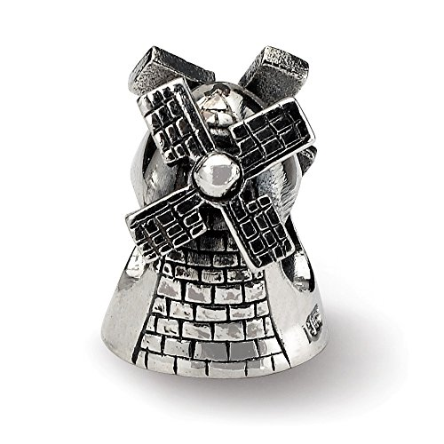 Halloween 2019 Amsterdam (925 Sterling Silver Charm For Bracelet Windmill Bead Travel Fine Jewelry Gifts For Women For)