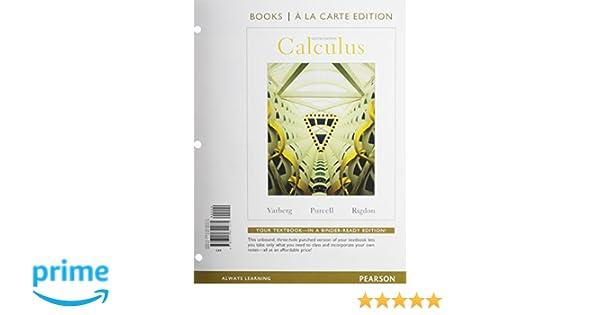 Calculus books a la carte edition 9th edition dale varberg calculus books a la carte edition 9th edition dale varberg edwin purcell deceased steve rigdon 9780321651075 amazon books fandeluxe Gallery