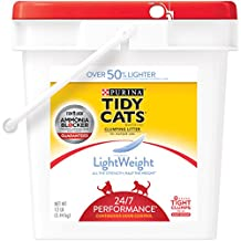 Purina Tidy Cats LightWeight 24/7 Performance Clumping Litter - (1) 12 lb. Pail