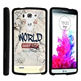 LG G3 Phone Cover, Stylish Personalized Protective Snap On Hard Case Phone Protector for LG G3 (D850, D851, D855, VS985, LS990, US990) by MINITURTLE - Never Stop