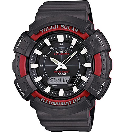 Casio AD S800WH 4AVCF Solar Watch Black
