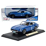 datsun diecast - New 1:18 W/B SPECIAL EDITION - BLUE 1971 Datsun 240Z Diecast Model Car By Maisto