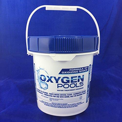 Oxygen Pools Formula O Chlorine Free Pool Water Treatment - 10lb Pail