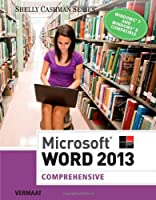 Microsoft Word 2013: Comprehensive Front Cover