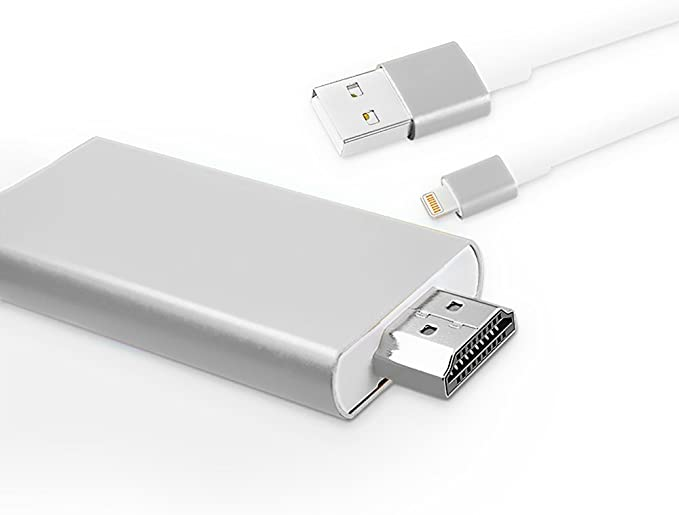 AISIF® - Cable Adaptador para iPhone iPad a HDMI, Adaptador AV ...